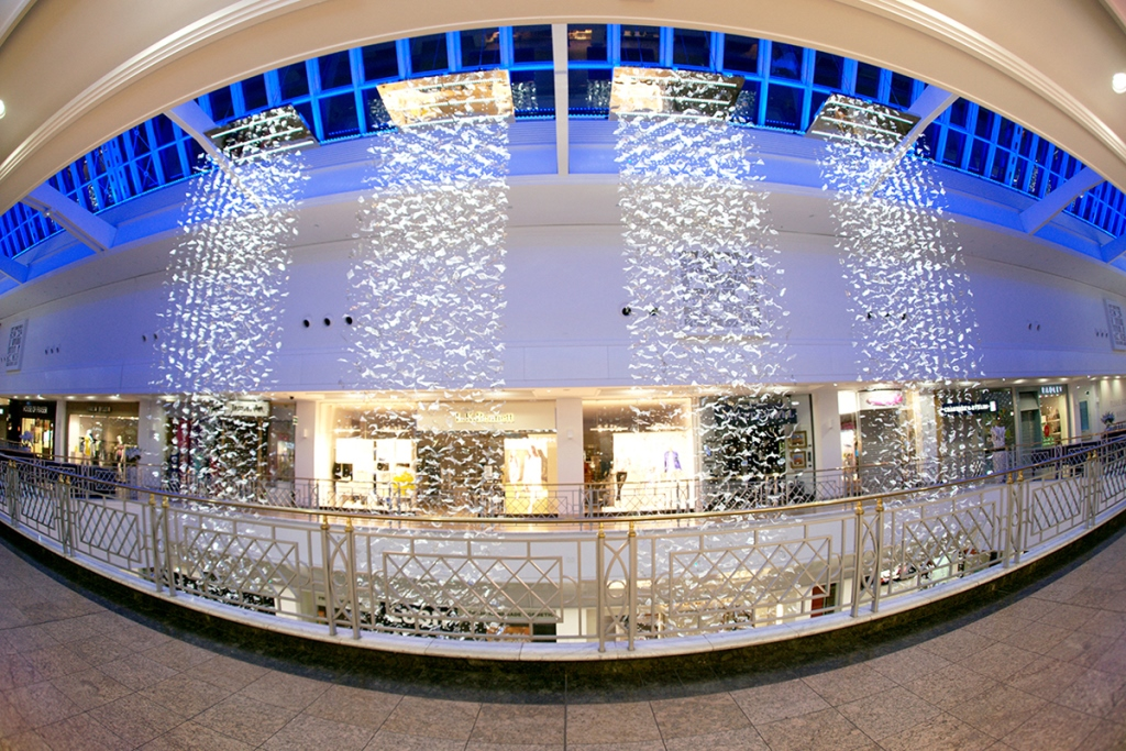 Meadowhall short listed for international lighting design for International decor lights